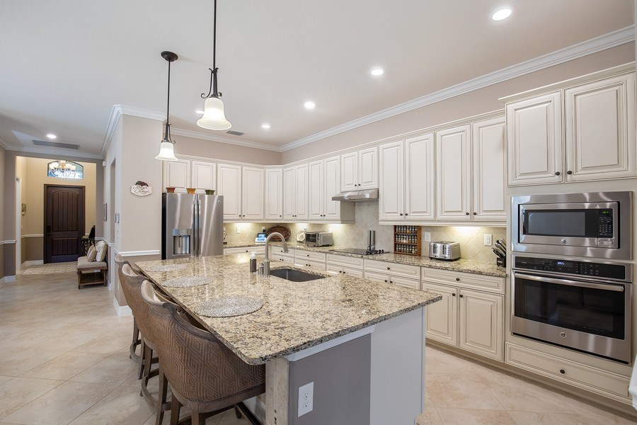 Real Estate Photography - 17571 Monaghan Run, Bonita Springs, FL, 34135 - Kitchen