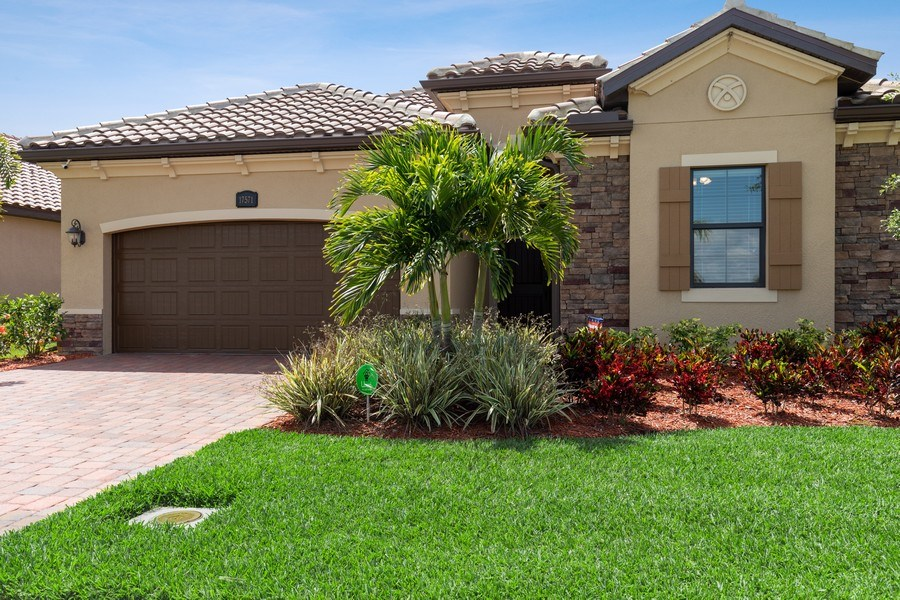 Real Estate Photography - 17571 Monaghan Run, Bonita Springs, FL, 34135 - Front View