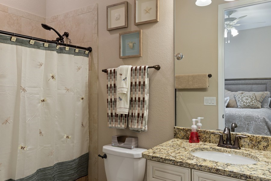 Real Estate Photography - 17571 Monaghan Run, Bonita Springs, FL, 34135 - 2nd Bathroom