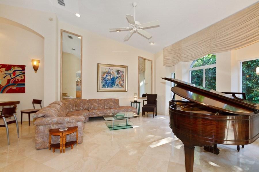 Real Estate Photography - 615 Via Mezner, Unit 1703, Naples, FL, 34108 - Living Room