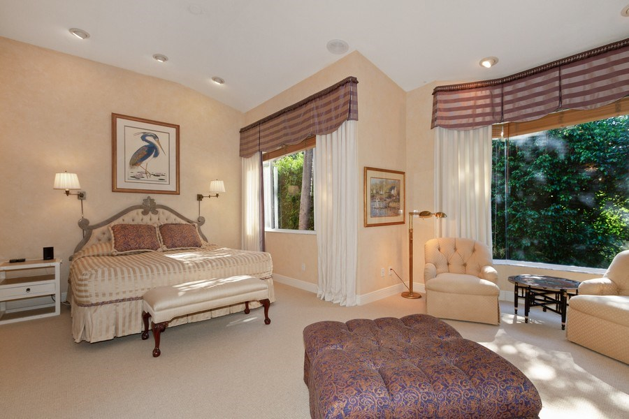 Real Estate Photography - 615 Via Mezner, Unit 1703, Naples, FL, 34108 - Master Bedroom
