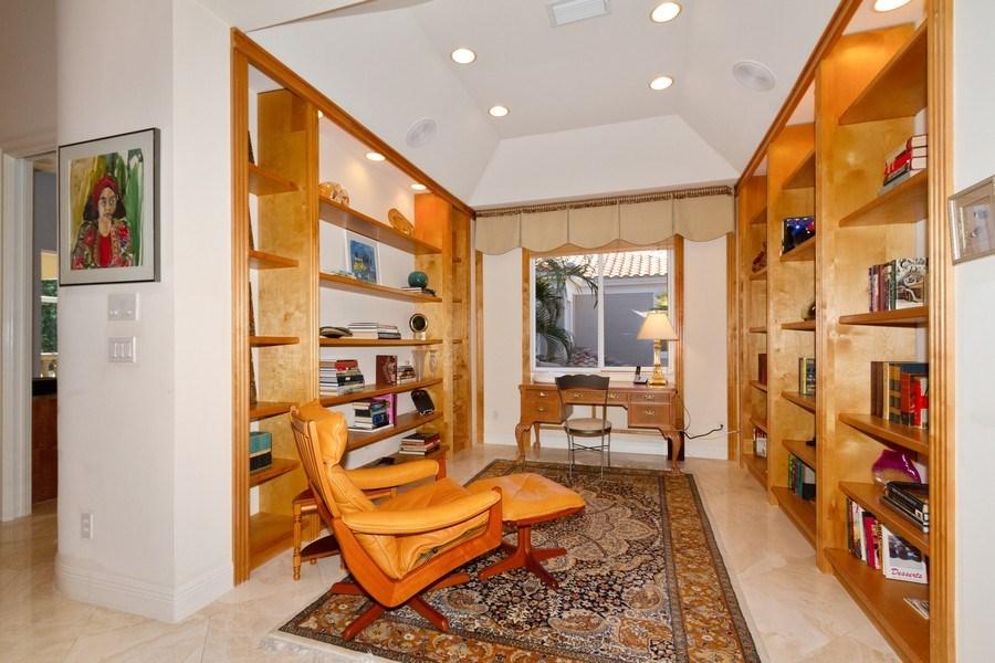 Real Estate Photography - 615 Via Mezner, Unit 1703, Naples, FL, 34108 - Den