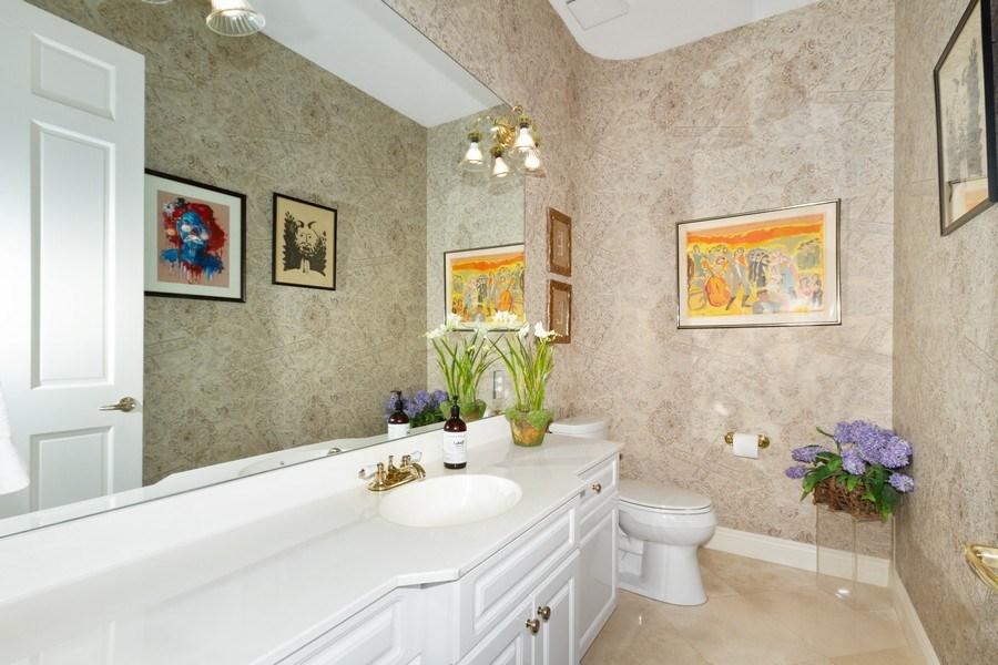 Real Estate Photography - 615 Via Mezner, Unit 1703, Naples, FL, 34108 - Half Bath
