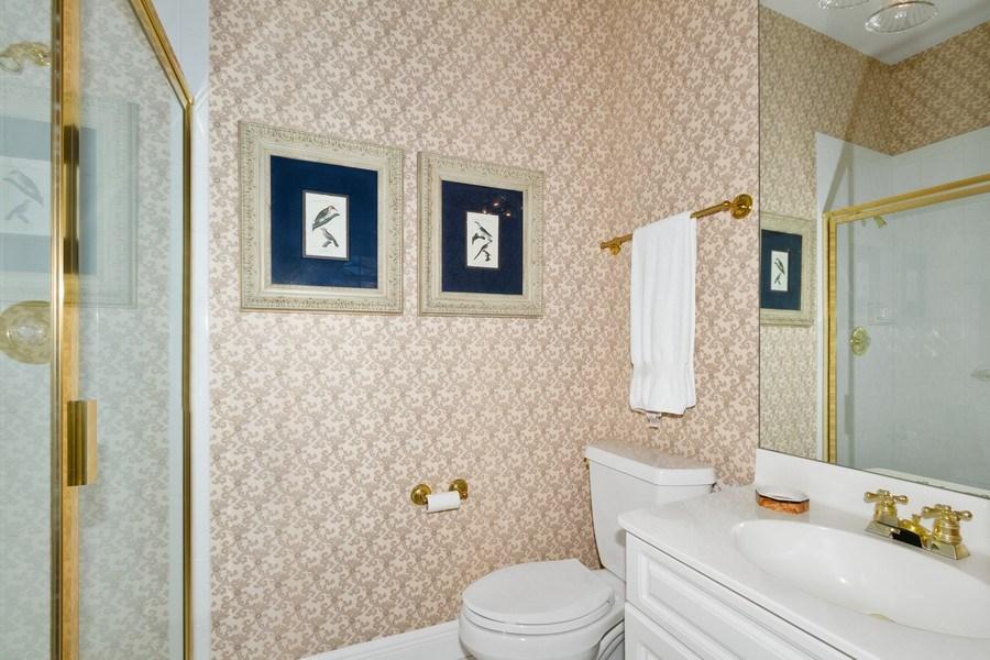 Real Estate Photography - 615 Via Mezner, Unit 1703, Naples, FL, 34108 - 2nd Bathroom