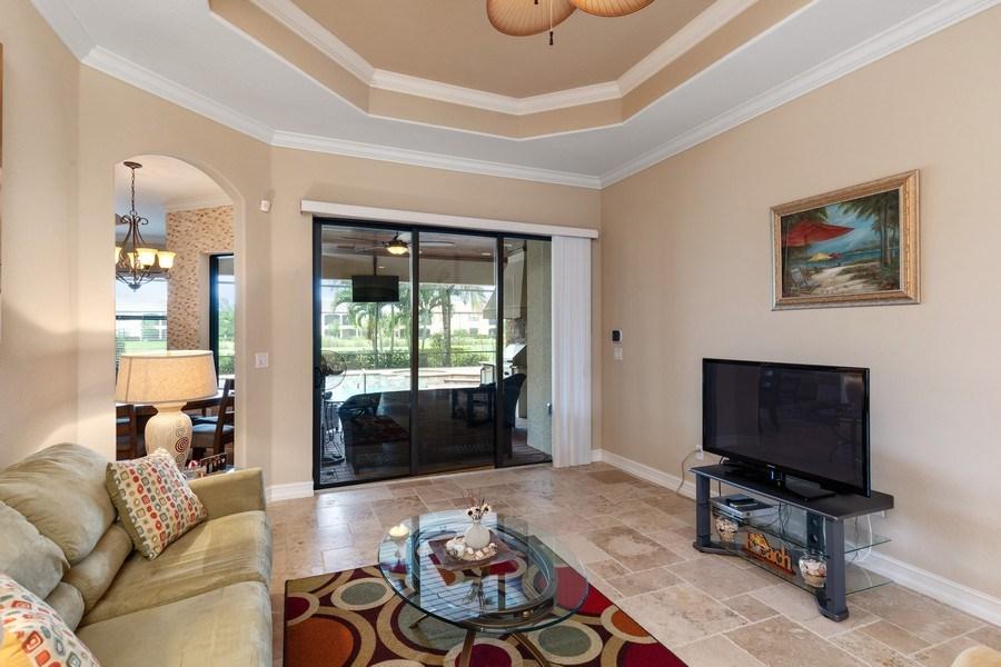 Real Estate Photography - 18190 Bonita National Boulevard, Bonita Springs, FL, 34136 - Living Room