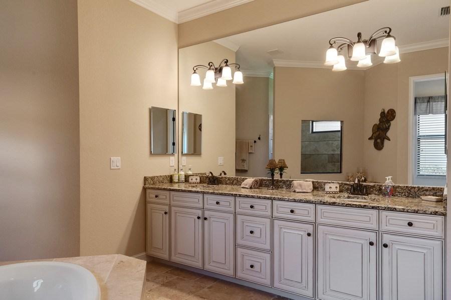 Real Estate Photography - 18190 Bonita National Boulevard, Bonita Springs, FL, 34136 - Master Bathroom