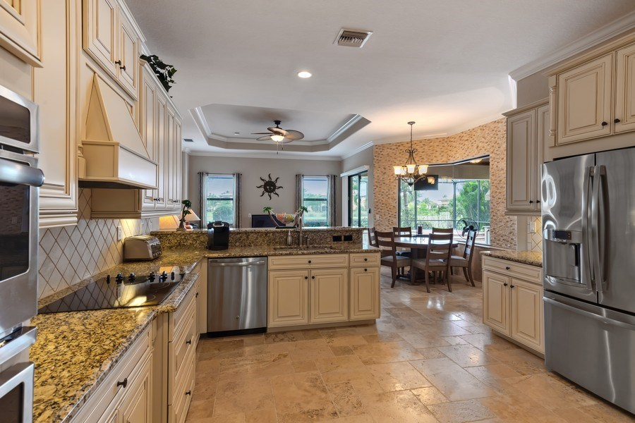 Real Estate Photography - 18190 Bonita National Boulevard, Bonita Springs, FL, 34136 - Kitchen