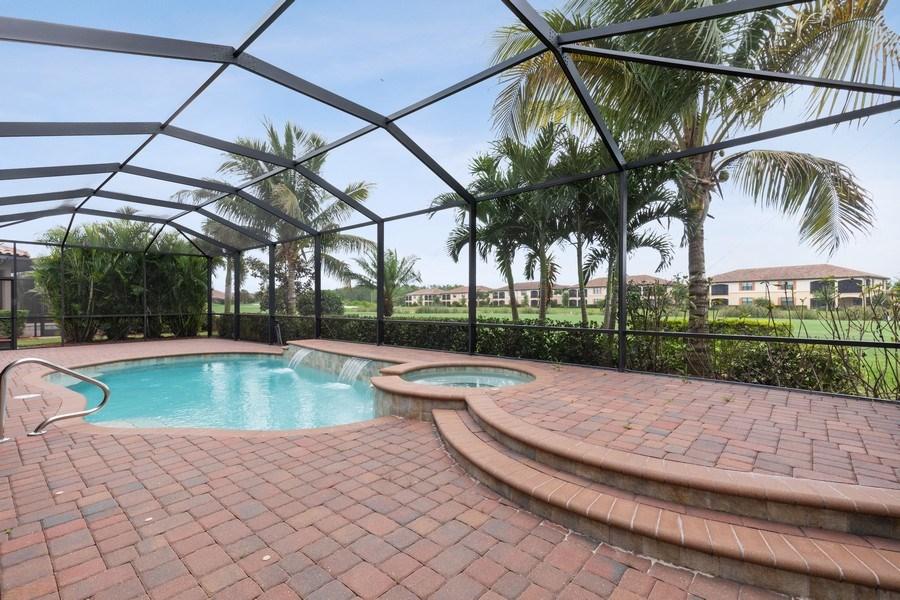 Real Estate Photography - 18190 Bonita National Boulevard, Bonita Springs, FL, 34136 - Pool