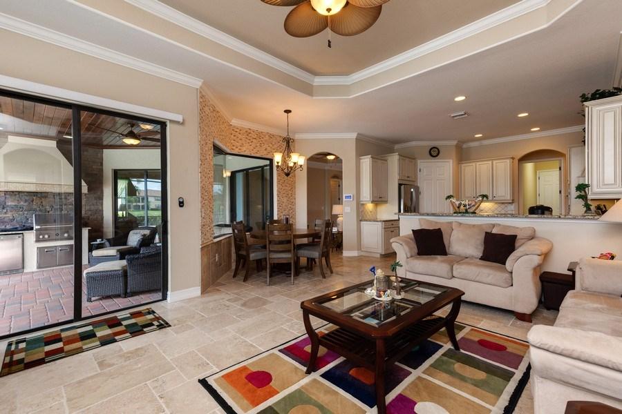 Real Estate Photography - 18190 Bonita National Boulevard, Bonita Springs, FL, 34136 - Family Room
