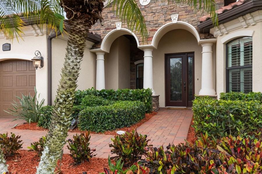 Real Estate Photography - 18190 Bonita National Boulevard, Bonita Springs, FL, 34136 - Entrance