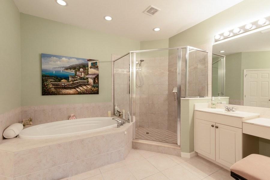 Real Estate Photography - 18941 Bay Woods Lake Dr. #201, Fort Myers, FL, 33908 - Master Bathroom