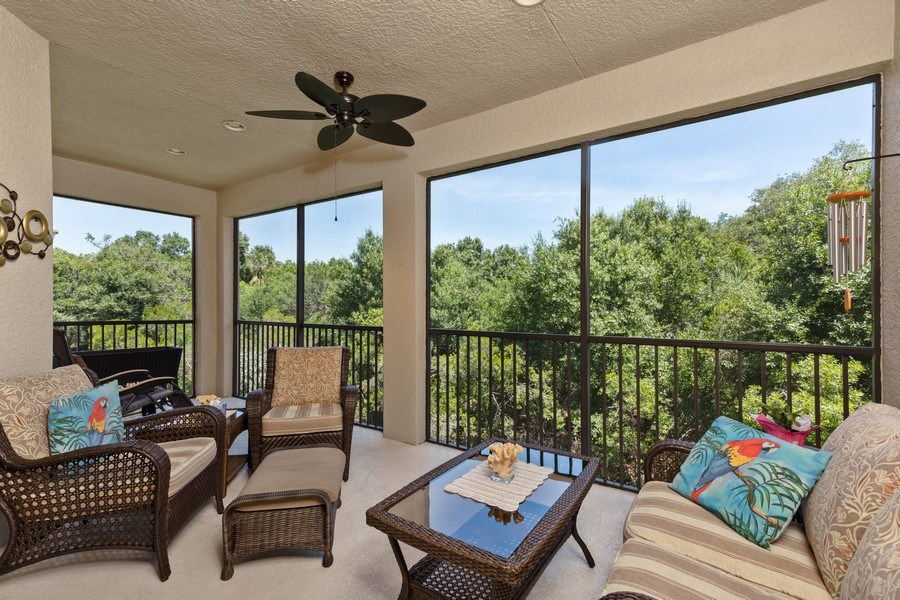 Real Estate Photography - 18941 Bay Woods Lake Dr. #201, Fort Myers, FL, 33908 - View