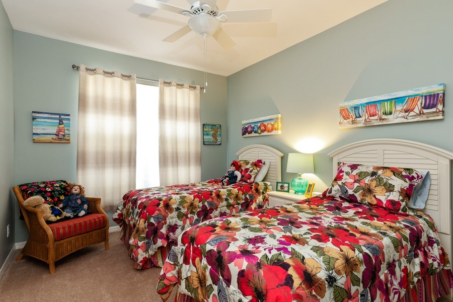 Real Estate Photography - 18941 Bay Woods Lake Dr. #201, Fort Myers, FL, 33908 - 3rd Bedroom