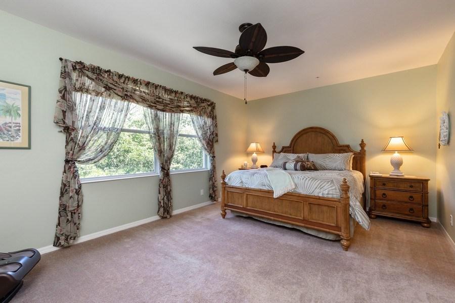 Real Estate Photography - 18941 Bay Woods Lake Dr. #201, Fort Myers, FL, 33908 - Master Bedroom