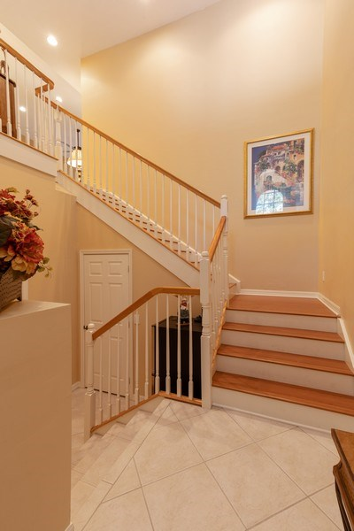 Real Estate Photography - 18941 Bay Woods Lake Dr. #201, Fort Myers, FL, 33908 - Foyer
