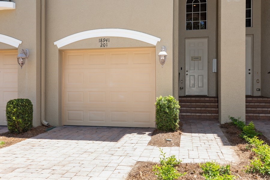 Real Estate Photography - 18941 Bay Woods Lake Dr. #201, Fort Myers, FL, 33908 - Front View