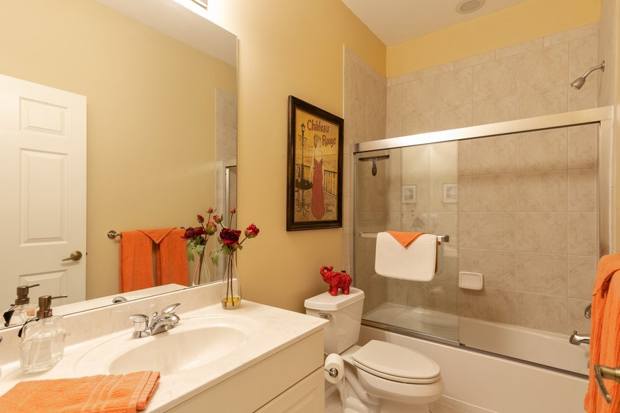 Real Estate Photography - 18941 Bay Woods Lake Dr. #201, Fort Myers, FL, 33908 - 2nd Bathroom