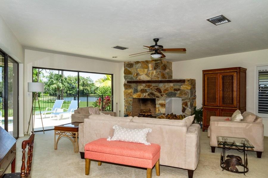 Real Estate Photography - 570 Bald Eagle Drive, Naples, FL, 34105 - Living Room