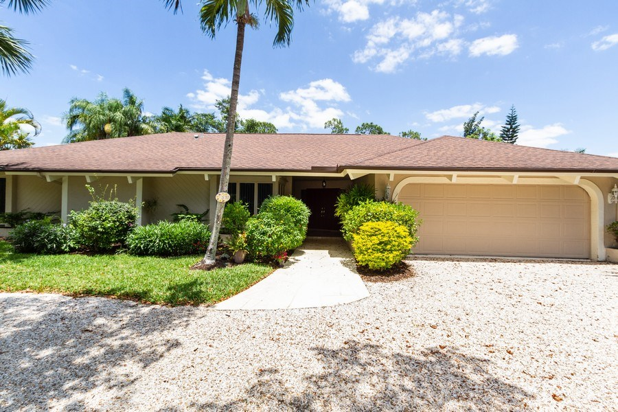 Real Estate Photography - 570 Bald Eagle Drive, Naples, FL, 34105 - Front View