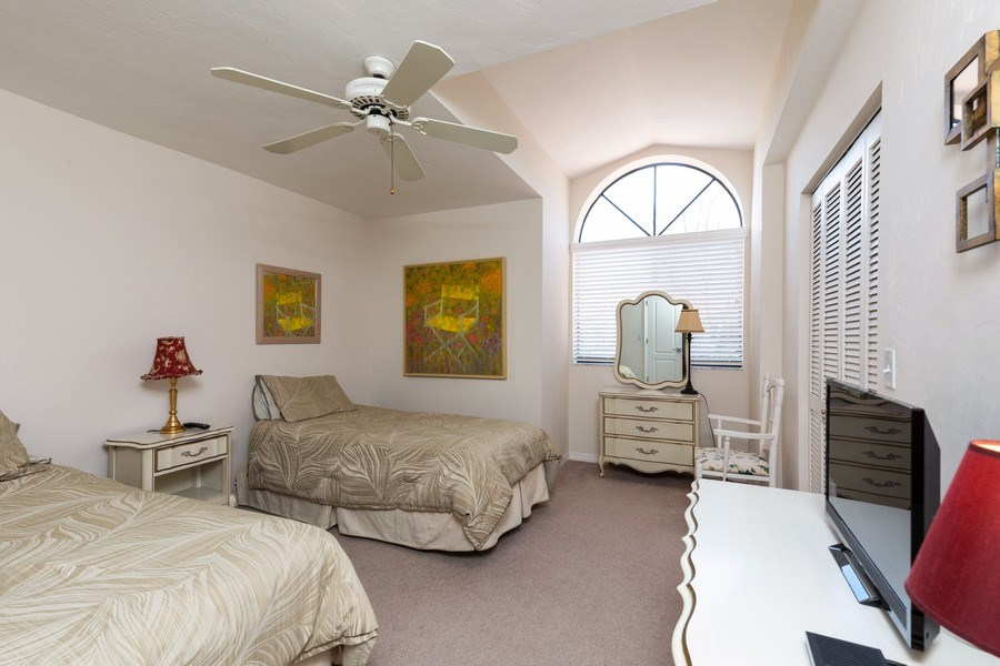 Real Estate Photography - 7000 Pelican Day Blvd, Unit A203, Naples, FL, 34108 - 2nd Bedroom