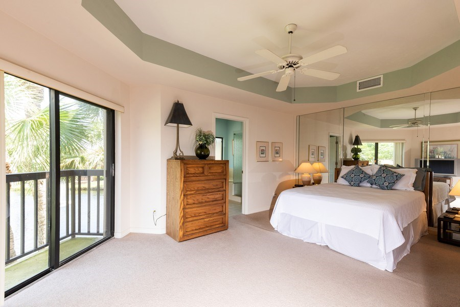 Real Estate Photography - 7000 Pelican Day Blvd, Unit A203, Naples, FL, 34108 - Master Bedroom