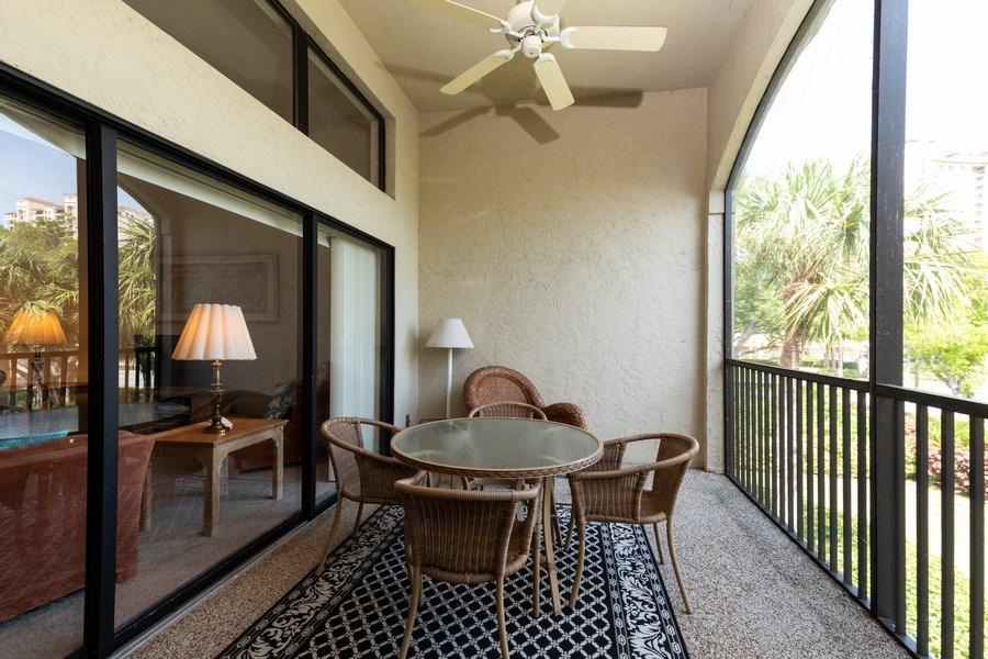 Real Estate Photography - 7000 Pelican Day Blvd, Unit A203, Naples, FL, 34108 - Lanai