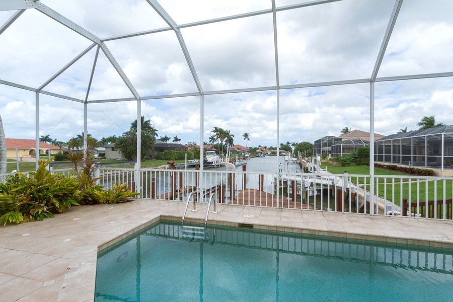 Real Estate Photography - 1770 Barbados Avenue, Marco Island, FL, 34145 - Canal View
