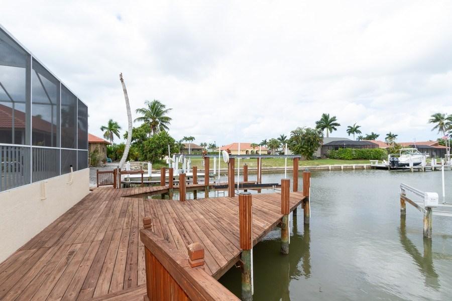 Real Estate Photography - 1770 Barbados Avenue, Marco Island, FL, 34145 - Dock