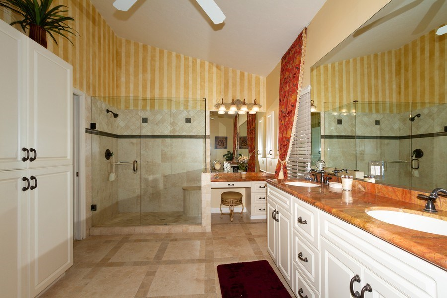 Real Estate Photography - 1770 Barbados Avenue, Marco Island, FL, 34145 - Master Bathroom