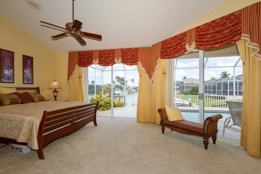Real Estate Photography - 1770 Barbados Avenue, Marco Island, FL, 34145 - Master Bedroom