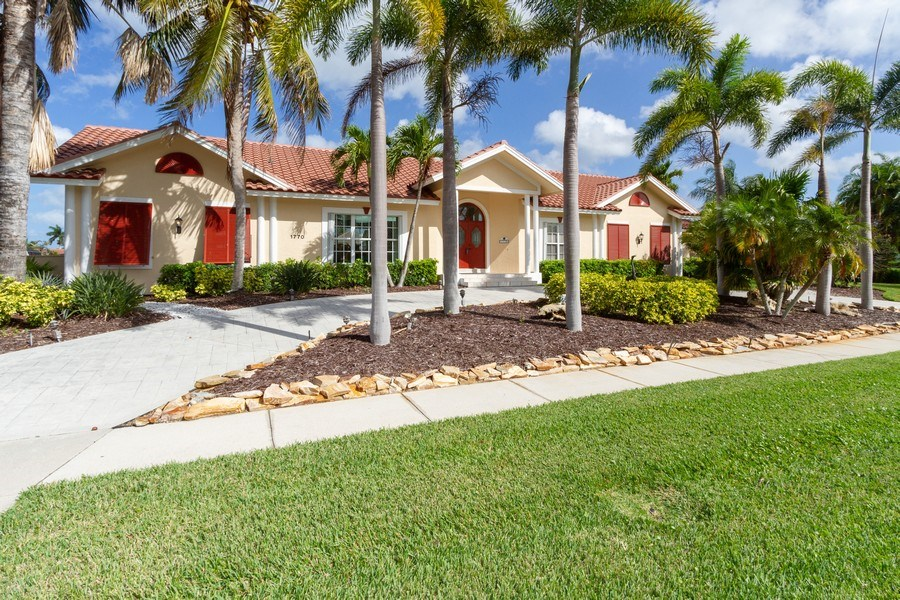 Real Estate Photography - 1770 Barbados Avenue, Marco Island, FL, 34145 - Front View