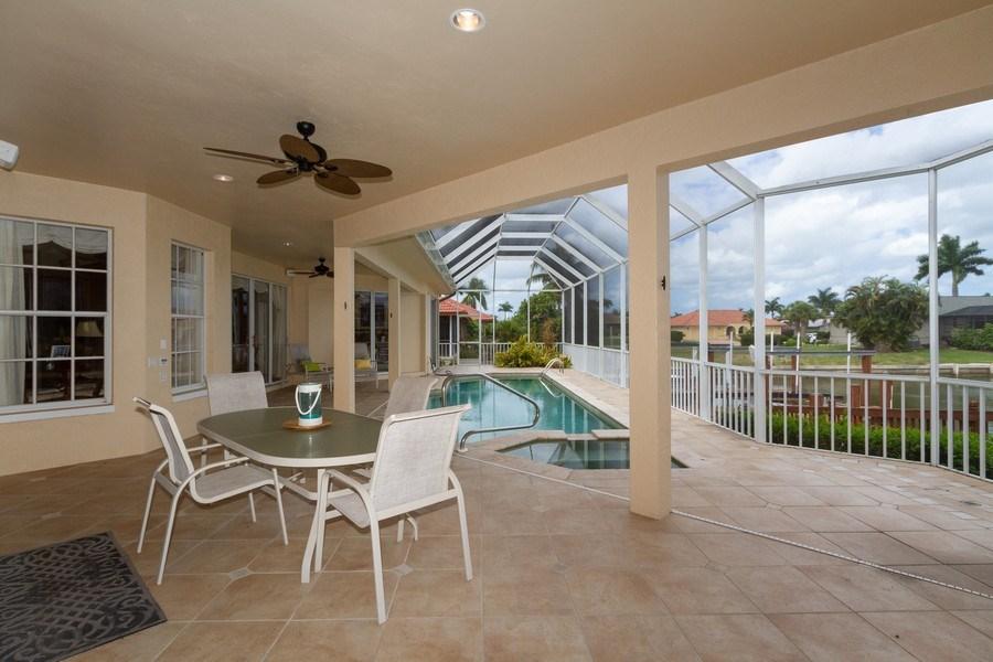 Real Estate Photography - 1770 Barbados Avenue, Marco Island, FL, 34145 - Lanai