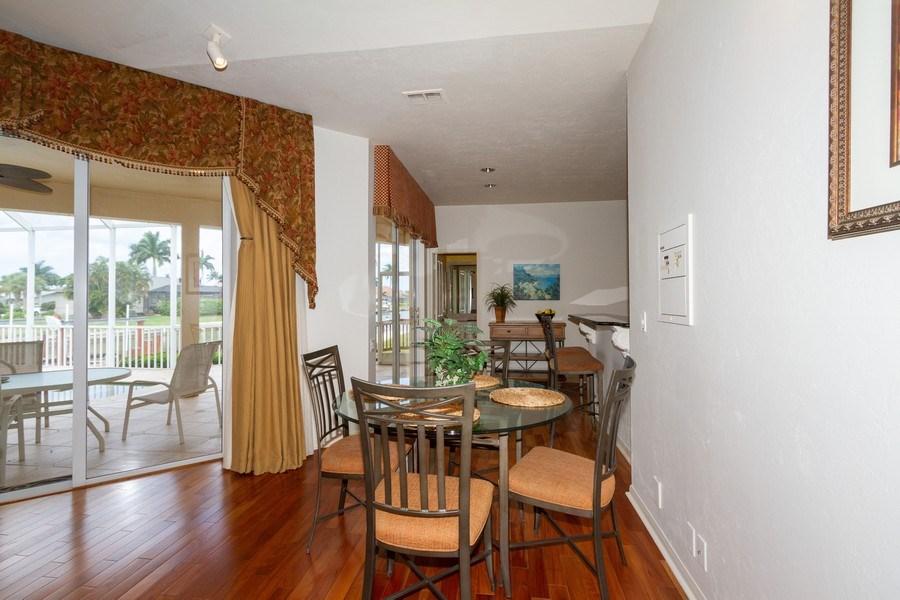 Real Estate Photography - 1770 Barbados Avenue, Marco Island, FL, 34145 - Breakfast Nook