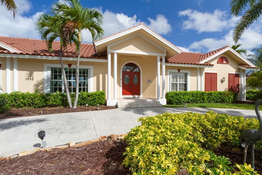 Real Estate Photography - 1770 Barbados Avenue, Marco Island, FL, 34145 - Entryway