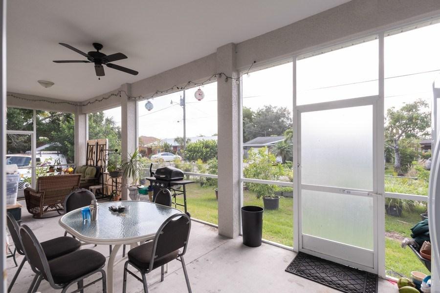 Real Estate Photography - 27101 Morgan Rd, Bonita Springs, FL, 34135 - Patio