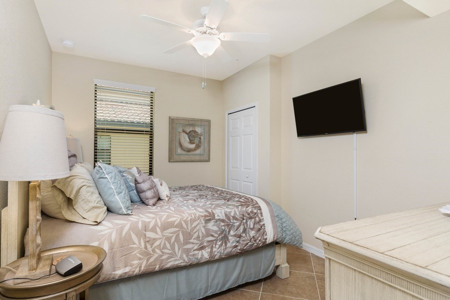Real Estate Photography - 28100 Cookstown Court, Unit 2204, Bonita Springs, FL, 34135 - 2nd Bedroom