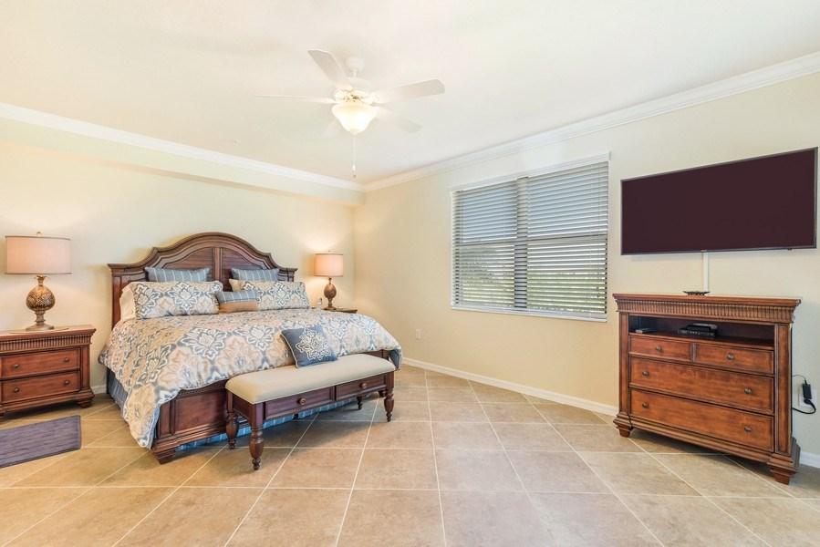 Real Estate Photography - 28100 Cookstown Court, Unit 2204, Bonita Springs, FL, 34135 - Master Bedroom