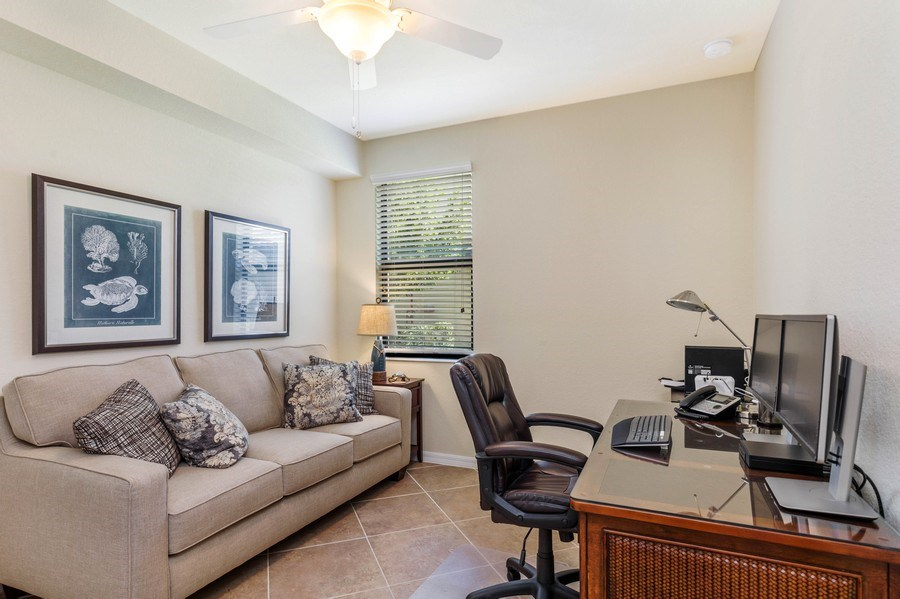 Real Estate Photography - 28100 Cookstown Court, Unit 2204, Bonita Springs, FL, 34135 - Den