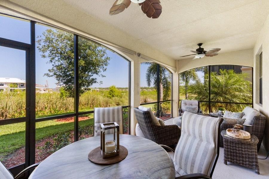 Real Estate Photography - 28100 Cookstown Court, Unit 2204, Bonita Springs, FL, 34135 - Lanai