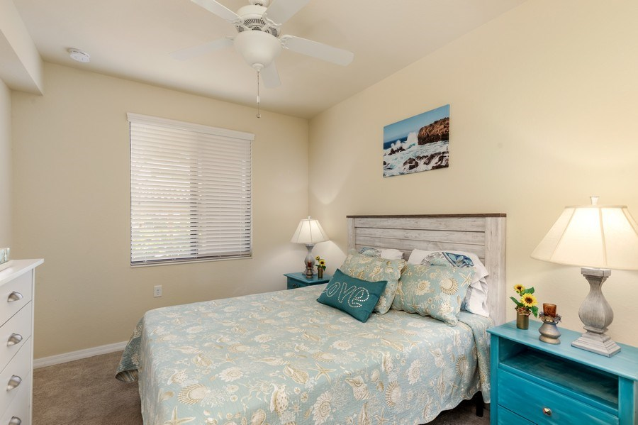 Real Estate Photography - 17941 BONITA NATIONAL BLVD 316, BONITA SPRINGS,, FL, 34135 - 2nd Bedroom