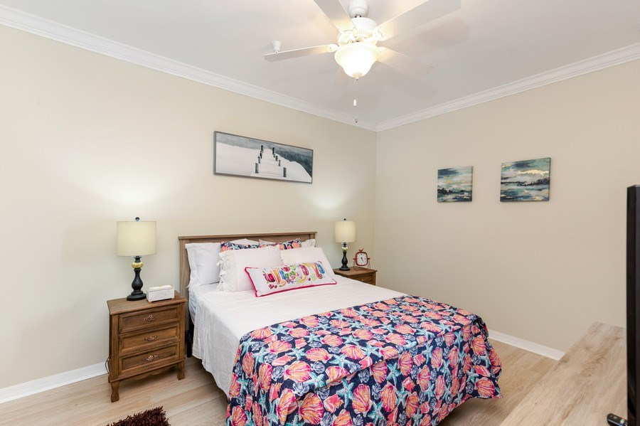 Real Estate Photography - 17941 BONITA NATIONAL BLVD 316, BONITA SPRINGS,, FL, 34135 - Master Bedroom