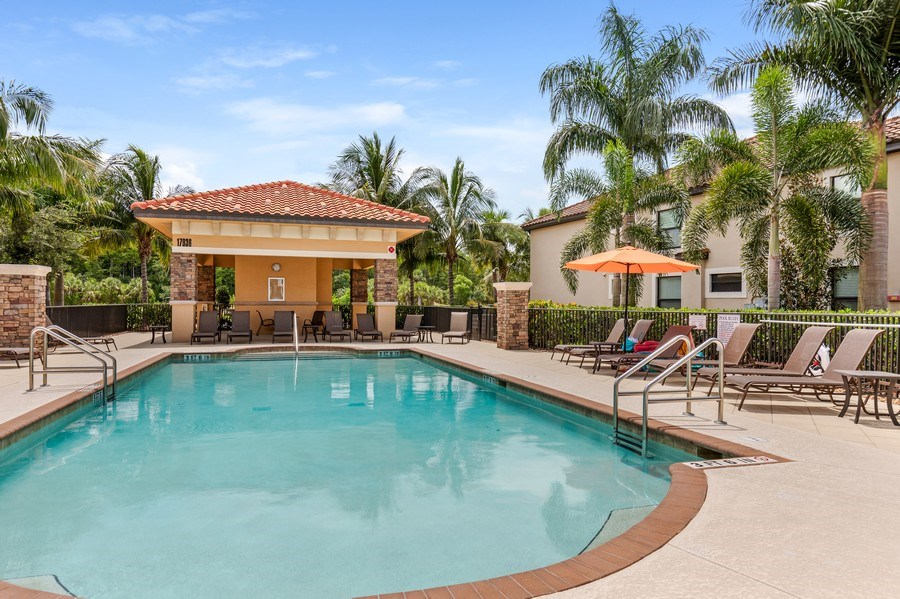 Real Estate Photography - 17941 BONITA NATIONAL BLVD 316, BONITA SPRINGS,, FL, 34135 - Pool