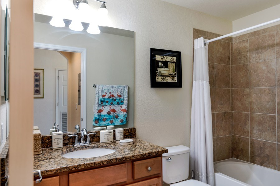 Real Estate Photography - 17941 BONITA NATIONAL BLVD 316, BONITA SPRINGS,, FL, 34135 - 2nd Bathroom