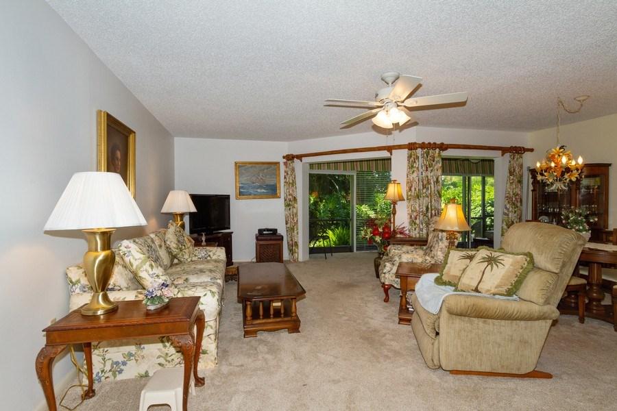 Real Estate Photography - 3200 Binnacle Drive F-2, Naples, FL, 34103 - Living Room