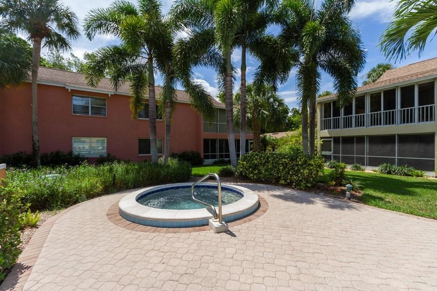 Real Estate Photography - 3200 Binnacle Drive F-2, Naples, FL, 34103 - Spa