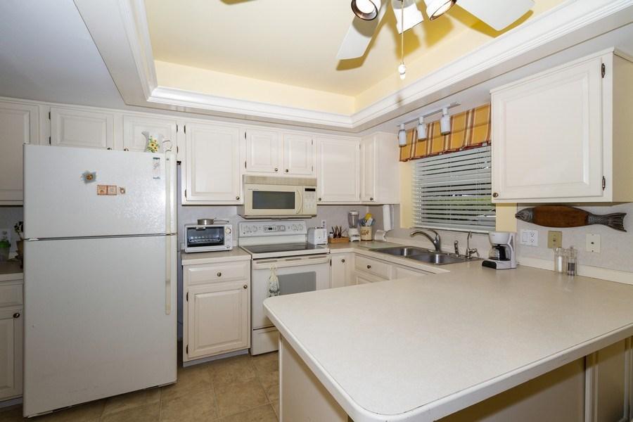 Real Estate Photography - 3200 Binnacle Drive F-2, Naples, FL, 34103 - Kitchen