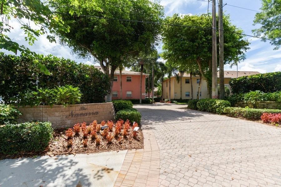 Real Estate Photography - 3200 Binnacle Drive F-2, Naples, FL, 34103 - Front View