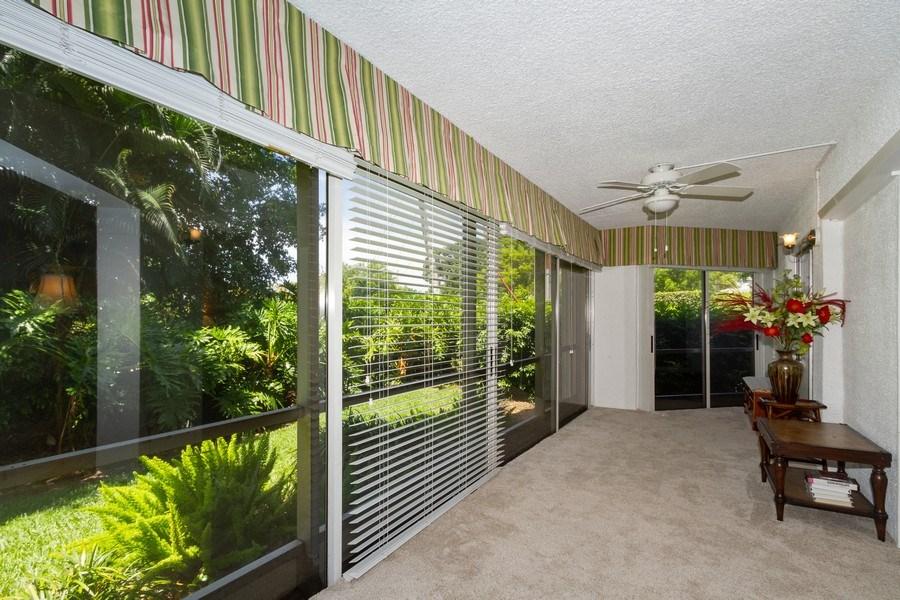 Real Estate Photography - 3200 Binnacle Drive F-2, Naples, FL, 34103 - Lanai