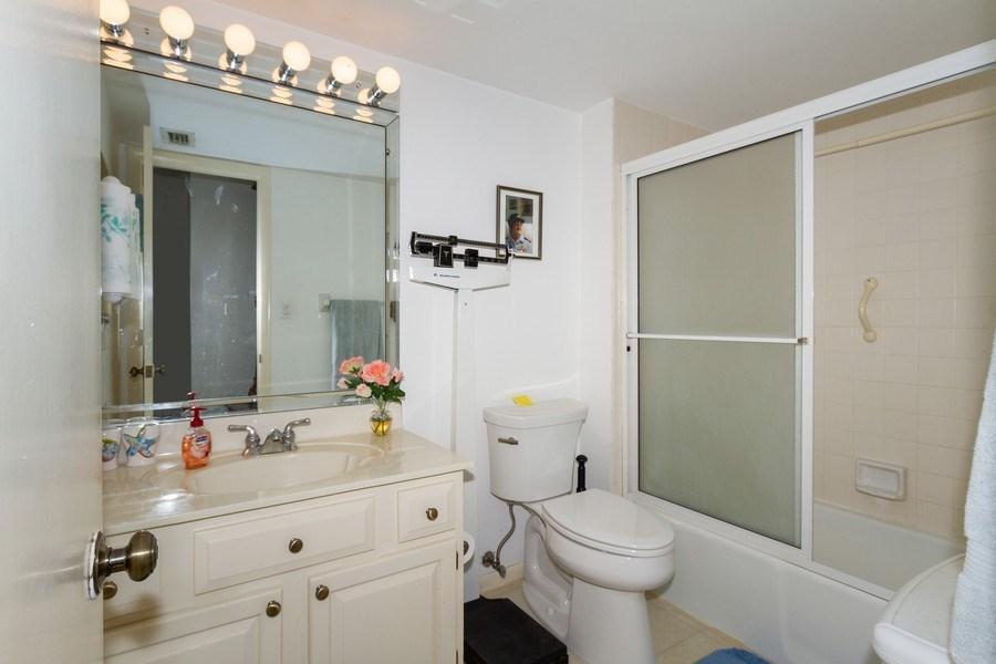 Real Estate Photography - 3200 Binnacle Drive F-2, Naples, FL, 34103 - Bathroom