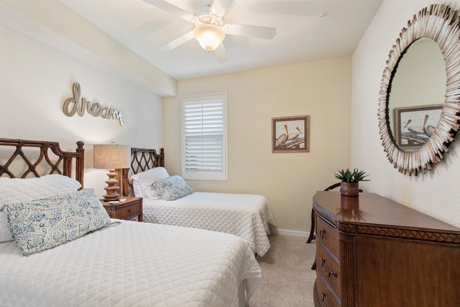 Real Estate Photography - 28550 Carlow Ct 504, Bonita Springs, FL, 34135 - 2nd Bedroom
